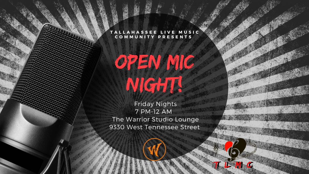 Open Mic Friday for Bands, Solo Artist and Everything in Between